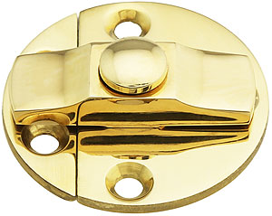 Brass Turn Button With Back Plates 1 1 2 Quot Diameter