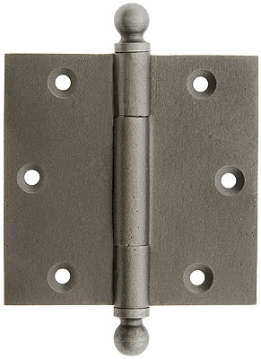 3 1 2 Quot Cast Iron Door Hinge With Ball Finials House Of