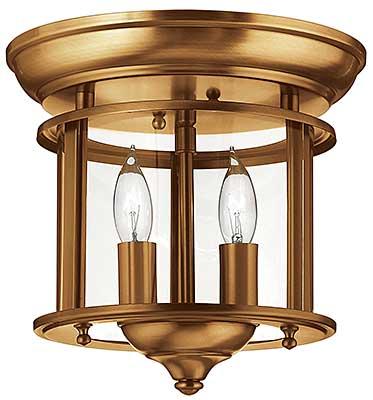 gentry flush mount ceiling fixture with 2 lights house of antique hardware. Black Bedroom Furniture Sets. Home Design Ideas