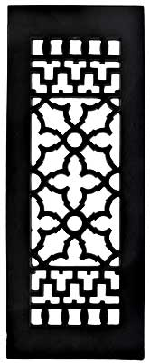 Cast Iron Victorian Style Floor Grate For Return Air Intake