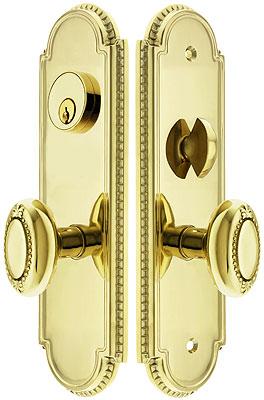how to take door knobs off