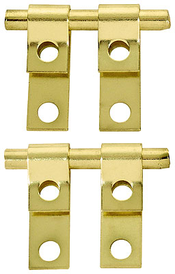 1 2 Quot X 1 1 2 Quot Pair Of Mirror Mounting Friction Hinges