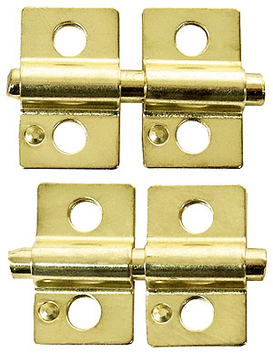 3 4 Quot X 1 1 4 Quot Pair Of Mirror Mounting Friction Hinges