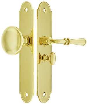 Arch Top Screen Door Lock Set With 1 1 4 Quot Backset House