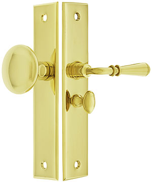 New York Screen Door Lock Set With 1 1 4 Quot Backset House