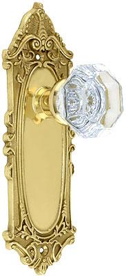 Largo Design Door Set With Waldorf Crystal Glass Door