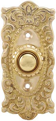 Victorian Decorative Doorbell Button House Of Antique