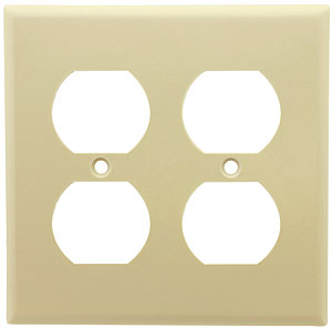 Leviton Double Duplex Outlet Cover Plate House Of