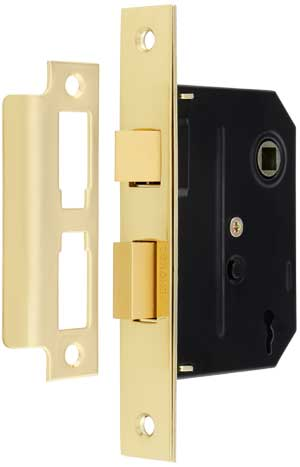 "2 1//2 /"" INCH CUPBOARD LOCK GOLD with key /&"
