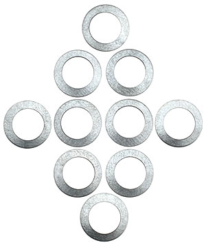 Set Of 10 Steel Spindle Spacers House Of Antique Hardware