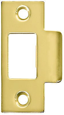 Brass Plated T Strike Plate 2 3 4 Quot X 1 1 8 Quot House Of