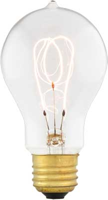 4 1 2 Quot Edison Reproduction Light Bulb 30 40 Or 60 Watts