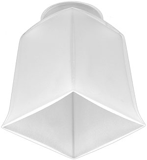 3 1 2 Quot Square Arts Amp Crafts Shade With 2 1 4 Quot Fitter