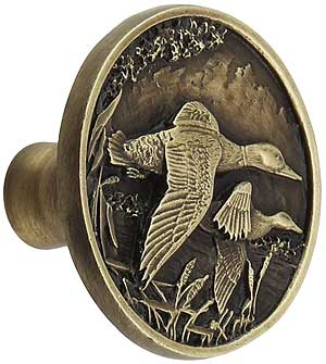 On The Wing Duck Cabinet Knob House Of Antique Hardware