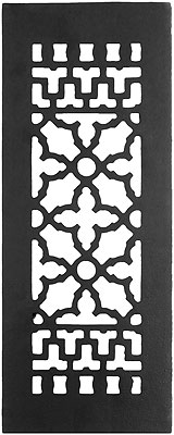 Cast Iron Victorian Style Floor Grate For Return Air