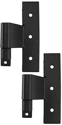 Set Of Suffolk Style Stainless Steel Middle Hinges With