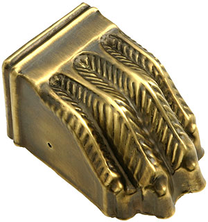 Large Brass Clawfoot Toe Cap In Antique By Hand House Of
