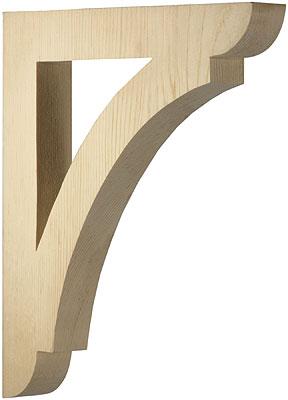 Large Pine Shelf Or Porch Bracket 12 Quot X 10 1 2 Quot X 1 1 2