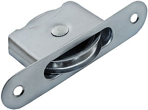 Zinc Plated Steel Sash Pulley With 2 Quot Diameter Wheel