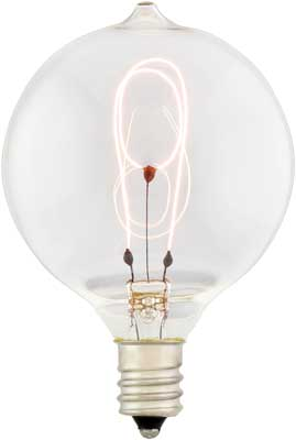 Small Round Carbon Filament Bulb 15 Watt House Of