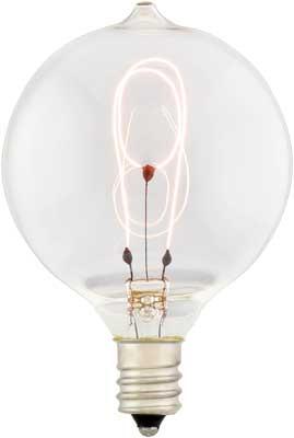 Small Round Carbon Filament Bulb 15 Watt House Of