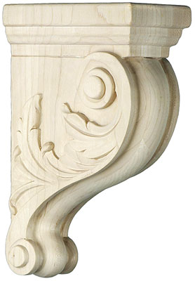 Leaf Pattern Maple Corbel In 3 Sizes House Of Antique