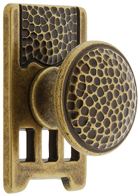 Roycroft Cabinet Knob With Short Backplate House Of