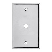 Classic Cable Jack Cover Plate In Polished Chrome
