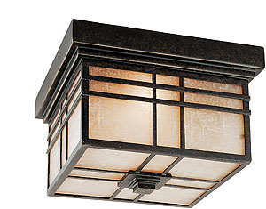 Hillcrest Flush Mount Ceiling Light In Imperial Bronze House Of Antique Har