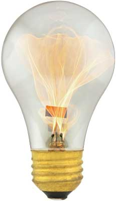 balafire flicker carbon filament light bulb 15 watt house of. Black Bedroom Furniture Sets. Home Design Ideas