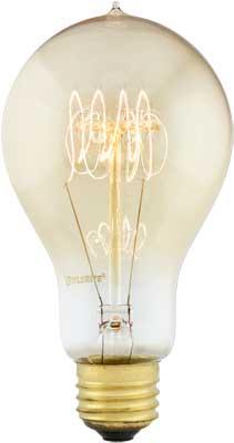 Quad Loop Extra Large A23 Medium Base Light Bulb 40 Watt