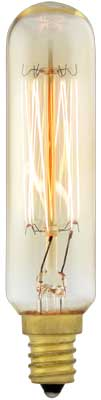 Quot Squirrel Cage Quot T6 Tube Candelabra Base Light Bulb 25