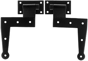 Pair Of Forged Steel L Type Bahama Shutter Hinges House