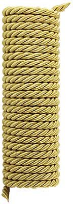 Triple-Strand Twisted Picture Hanging Cord - 3/16-inch Diameter. (R-010SV-326-4X) Classical_Victorian_Arts&Crafts
