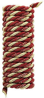 Triple Strand Multi-Color Picture Hanging Cord - 1/4-inch Diameter. (R-010SV-337-6X) Classical_Victorian_Arts&Crafts