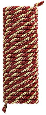 Triple Strand Multi-Color Picture Hanging Cord - 3/16-inch Diameter. (R-010SV-337-4X) Classical_Victorian_Arts&Crafts