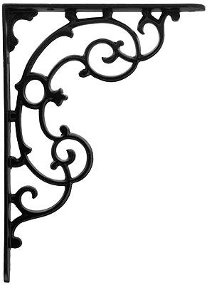Victorian Scroll Design Shelf Bracket 11 3 4 Quot X 8 5 8