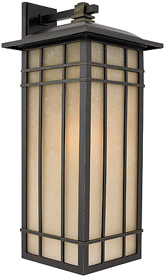 Hillcrest Large Elongated Wall Lantern In Imperial Bronze House Of Antique