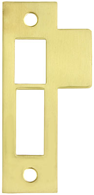3 1 2 Quot Solid Brass Mortise Strike Plate House Of Antique