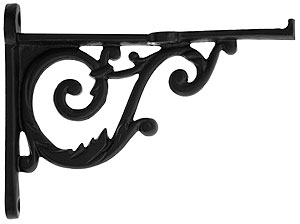Small Cast Iron Scroll Shelf Bracket 3 3 4 Quot X 5 Quot House
