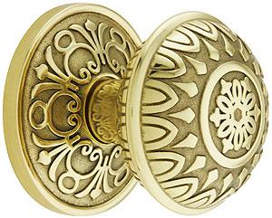 Lancaster door set with lancaster knobs house of antique hardware for Decorative interior door knobs