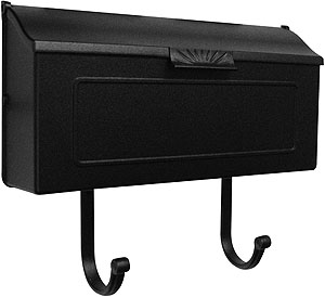 Sunburst Cast Aluminum Horizontal Mailbox House Of