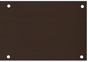 Aluminum Kick Plate With Oil Rubbed Bronze Finish House