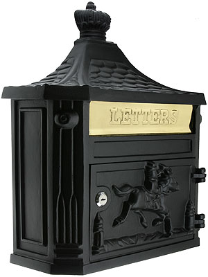 Horseman Cast Aluminum Mailbox House Of Antique Hardware