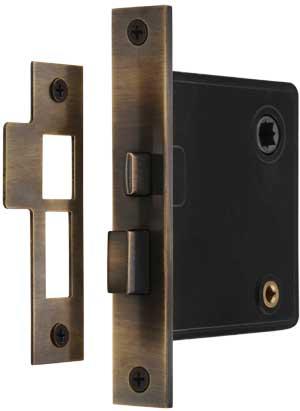 1 x Traditional Metal Cupboard Cabinet Door Thumb Turn Catch Latch Lock