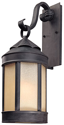 Anderson S Forge 24 Quot Exterior Wall Sconce In Aged Iron