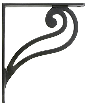 Scroll Design Iron Shelf Bracket 7 1 8 Quot X 6 1 8 Quot House