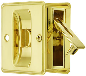 All One Pocket Door Privacy Lock Set House Antique