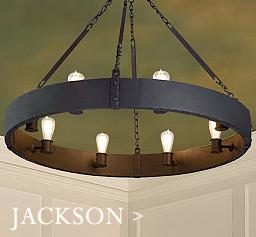 Jackson lodge chandelier