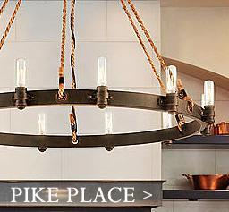 Pikes place chandelier